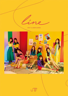 UNIT 1ST MINI ALBUM 'LINE'