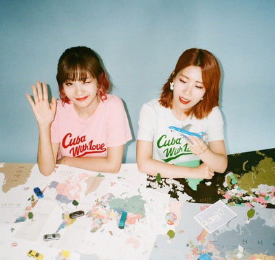 BOLBBALGAN4 MINI ALBUM 'RED DIARY PAGE 2'