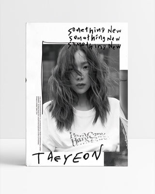 TAEYEON 3RD MINI ALBUM 'SOMETHING NEW'