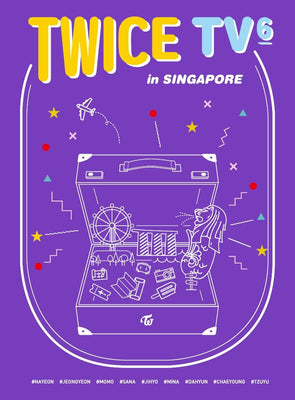 TWICE 'TWICE TV6 : TWICE in SINGAPORE' DVD