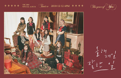 TWICE 3rd Special Album 'The Year Of YES'