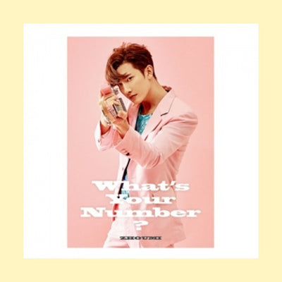 ZHOUMI 2ND MINI ALBUM 'WHAT'S YOUR NUMBER?'