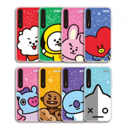 [BT21] HI SERIES GRAPHIC LIGHT UP CASE FOR IPHONE (HYBRID)