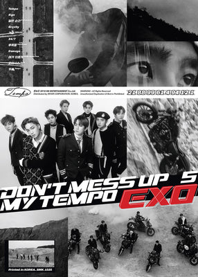 EXO 5th Album 'Don't Mess Up My Tempo'