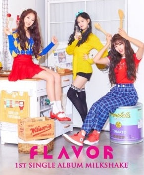 FLAVOR 1st Single Album 'MILKSHAKE'
