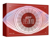 GOT7 2018 WORLD TOUR EYES ON YOU BLU-RAY