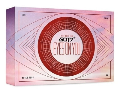 GOT7 2018 WORLD TOUR EYES ON YOU DVD