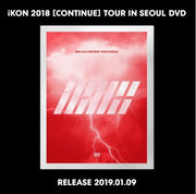 iKON 2018 CONTINUE TOUR IN SEOUL DVD