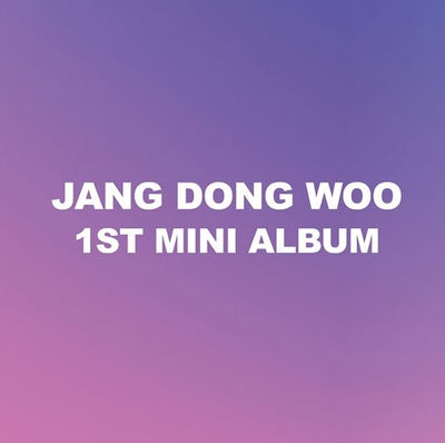 INFINITE JANG DONGWOO 1st Mini Album