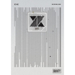KNK 2nd Single Album 'Gravity' Kihno Version