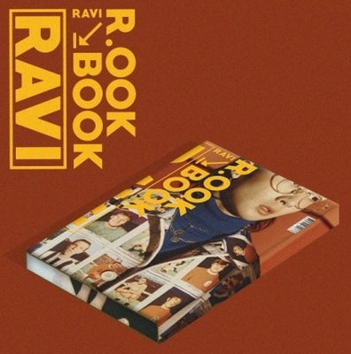 [KIHNO] VIXX RAVI 2nd Mini Album 'R.OOK BOOK'