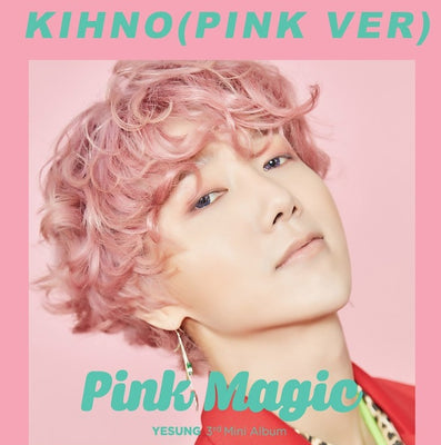 [KIHNO] YESUNG 3rd Mini Kinho Album 'Pink Magic'