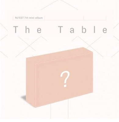 NUEST NU'EST 7th Mini Album 'The Table' Air KiT