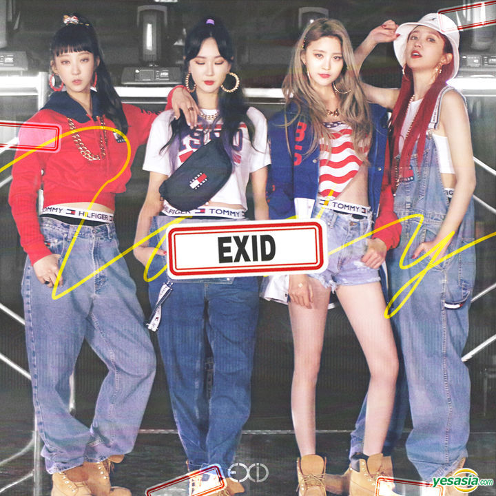EXID 'LADY' Taiwan Limited Edition
