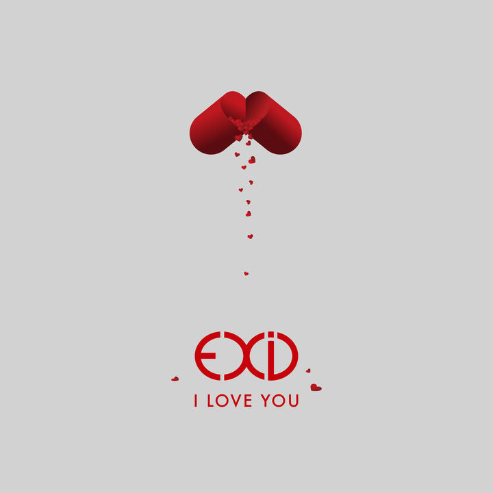 EXID 'I LOVE YOU' Taiwan Limited Edition