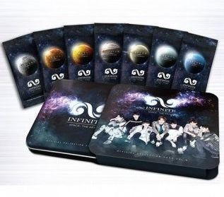 INFINITE Official star collection card set 2