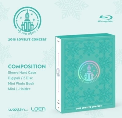 LOVELYZ 2018 CONCERT 'LOVELYZ in Winter Land2' Blu-ray