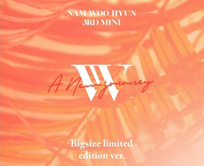 Nam Woo Hyun 3rd Mini Album 'A New Journey'