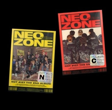 NCT 127 2nd Album 'NCT No127 Neo Zone'