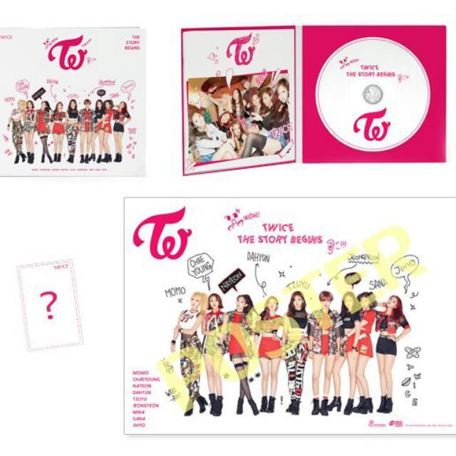 Twice the story Begins Taiwan Edition