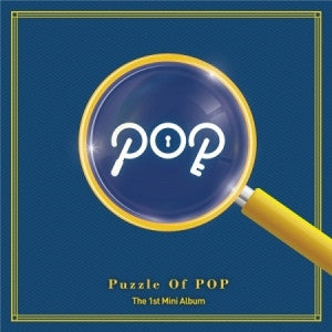 P.O.P 1ST MINI ALBUM- PUZZLE OF POP