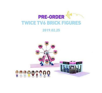 TWICE TV6 BRICK FIGURES 'Block + Figure'