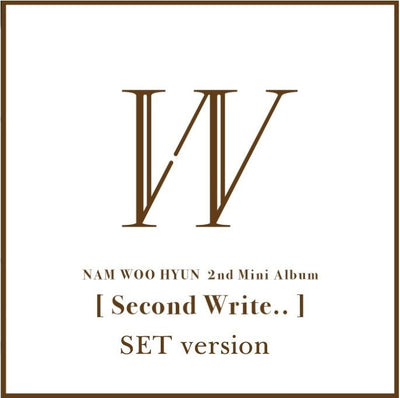 Nam Woo Hyun 2nd Mini Album 'Second Write'