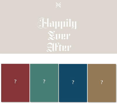 NUEST NU'EST 6th Mini Album 'Happily Ever After'