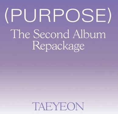 TAEYEON 2nd Repackage Album 'Purpose'