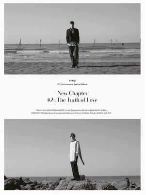TVXQ 15th Anniversary Special Album 'New Chapter 2 : The Truth of Love'