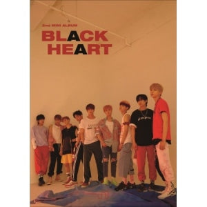 UNB 2ND MINI ALBUM 'BLACK HEART'