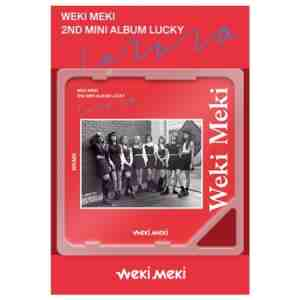 WEKI MEKI 2ND MINI KINO ALBUM 'LUCKY'
