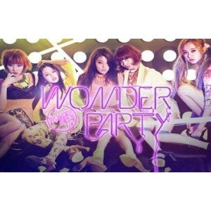Wonder Girls Mini Album 'Wonder Party'