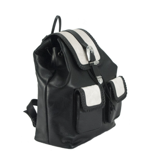 Drawstring Western Backpack - erindananewyork - 2