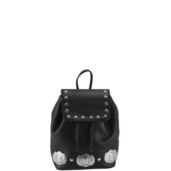 Mini Drawstring Western Backpack - erindananewyork - 1