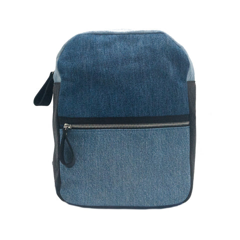 Framework x The Vintage Twin Backpack - Tri Denim - erindananewyork - 1