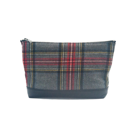 Framework x The Vintage Twin Pouch - Flanel & Jersey - erindananewyork - 1