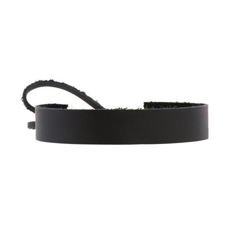 Bowtie Choker Black Leather - erindananewyork - 1