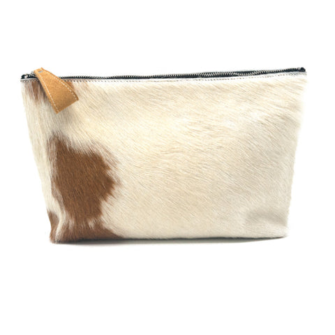 Oversized Alex Pouch Pony Hair Light - erindananewyork - 1