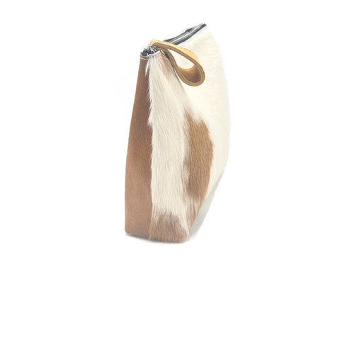 Oversized Alex Pouch Pony Hair Light - erindananewyork - 2
