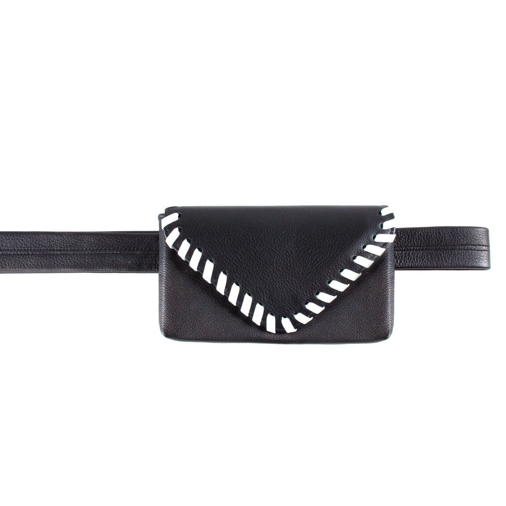 Whipstitch Belt Bag - erindananewyork - 1