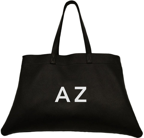 Mia Tote Black Leather
