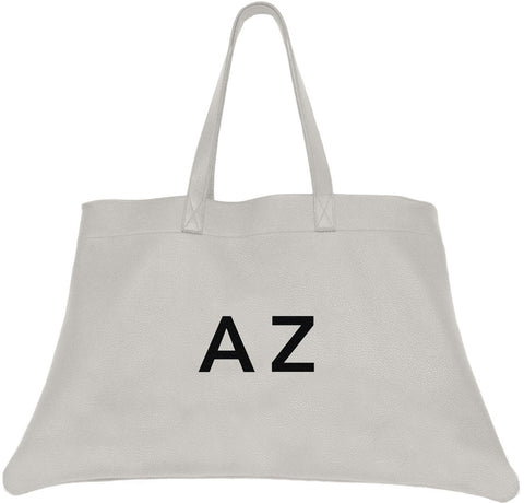 Mia Tote White Leather