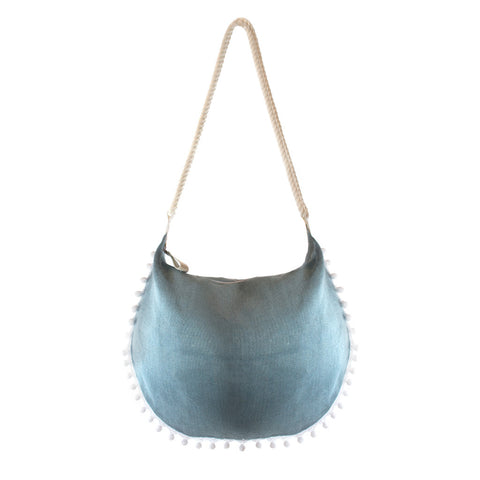 Beach Hobo Powder Blue - erindananewyork - 1