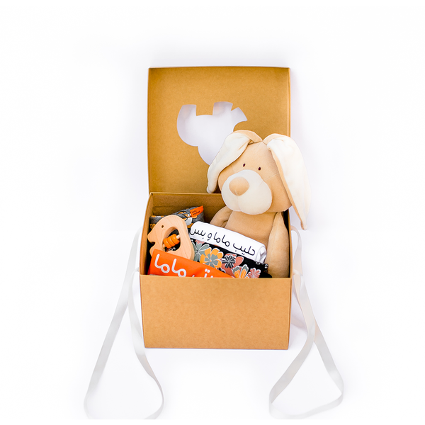 Organic Baby Basket - Basic Set