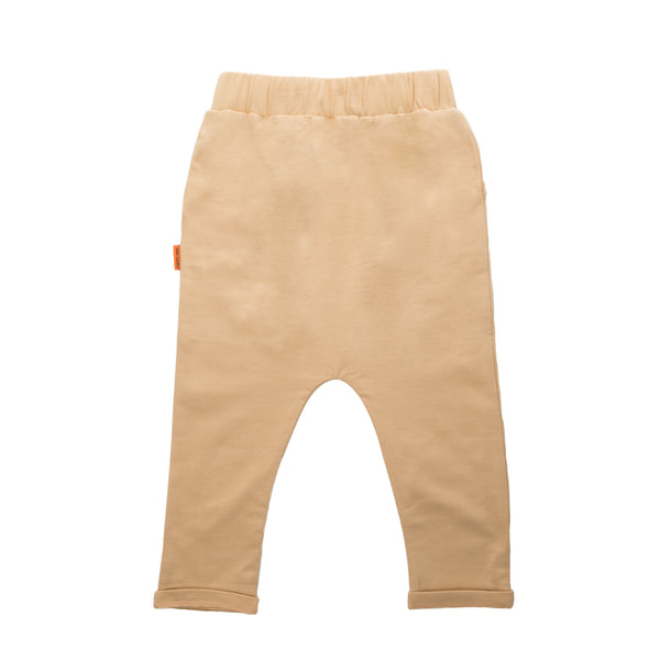 Low Crotch Pants with Camel
