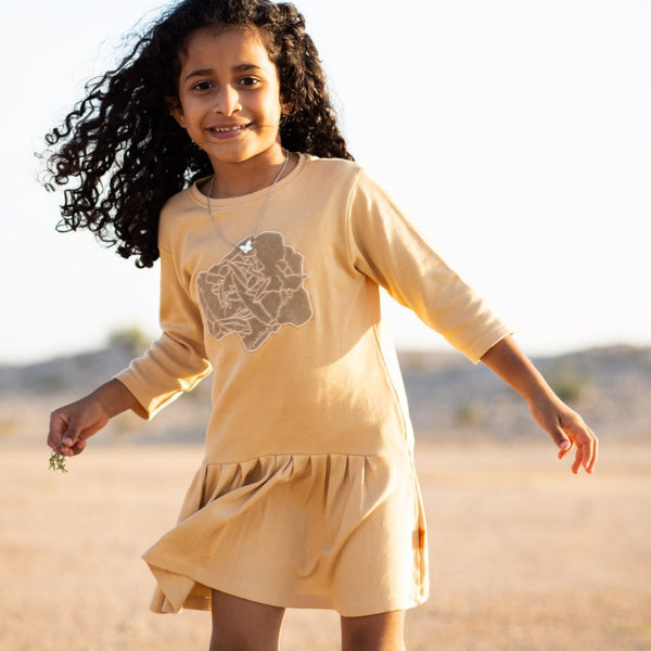 "Organic Dress ""Desert Rose"" (9mths-4yrs)"