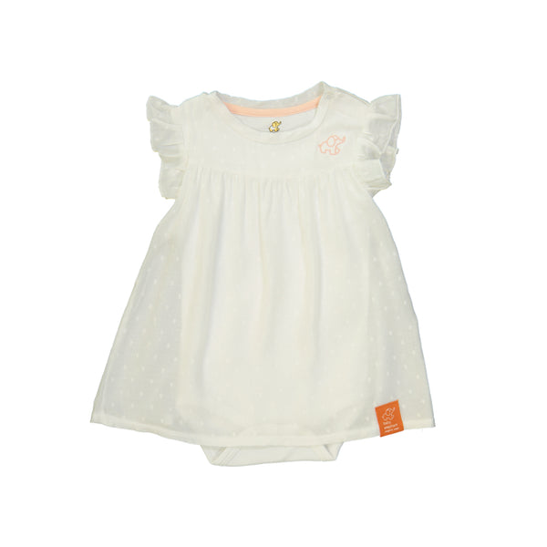 Organic Aloe Vera Onesie Dress (3-6mths)