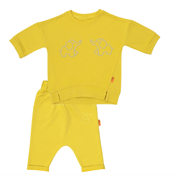 Organic Yellow Set (2 pieces)