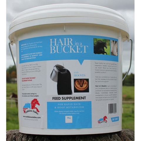 Hair in a bucket 3kg